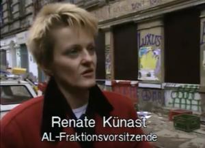 AL-Fraktionsvorsitzende Renate Kunast