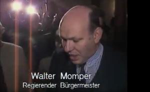 Der Regierende Burgermeister Walter Momper