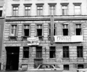 Besetzung der Lottumstraße 10a am 13. Januar 1990