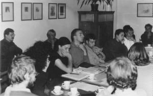 Runder Tisch Hausbesetzung Prenzlauer Berg 1991