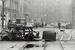 Foto: Räumung Mainzer Straße; Archiv telegraph