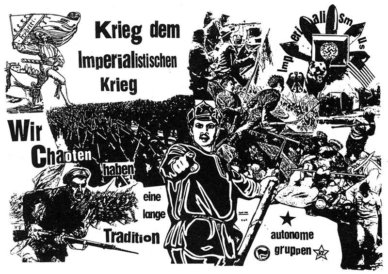 Revoluitonsromantik der Antifa (M) Göttingen von 1986