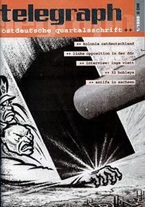 telegraph #1 _ 1998 Schwerkunkt - Kolonie Ostdeutschland