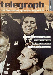 telegraph #2 _ 1998 Schwerpunkt: PDS – Osten + Posten + Populismus
