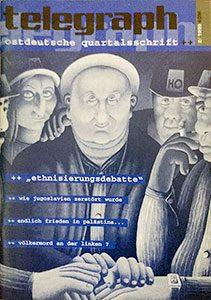 telegraph #02 _ 1999 Schwerpunkt: Ethnisierungsdebatte