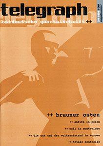 telegraph 3/4 1998 brauner Osten