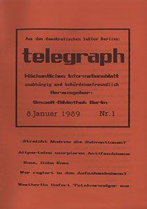 telegraph 1/1990 (#11) vom 08.01.1990