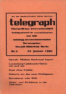 telegraph 2/1990 (#12) 22.01.1990