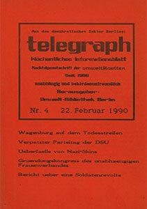 telegraph 4/1990 (#14) 22.02.1990