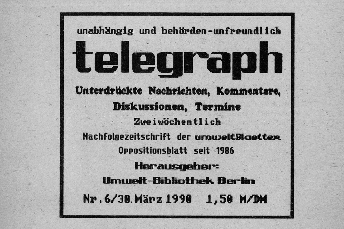 telegraph 06/1990, vom 30. März