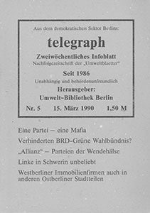 telegraph 5/1990 (#15) 15.03.1990