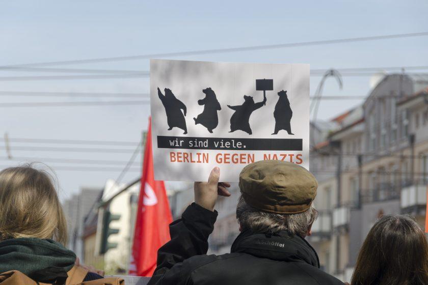 Wir sind viele. Berlin gegen Nazis, Foto: AG TusT/telegraph