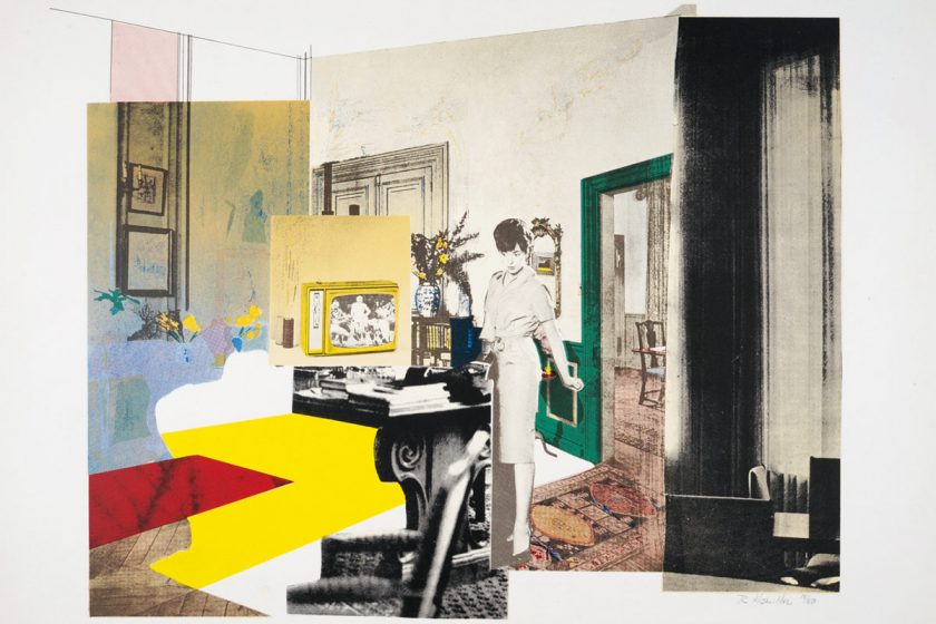 Richard Hamilton, Interior, 1964/65 © R. Hamilton. All Rights Reserved/VG Bild-Kunst, Bonn 2018