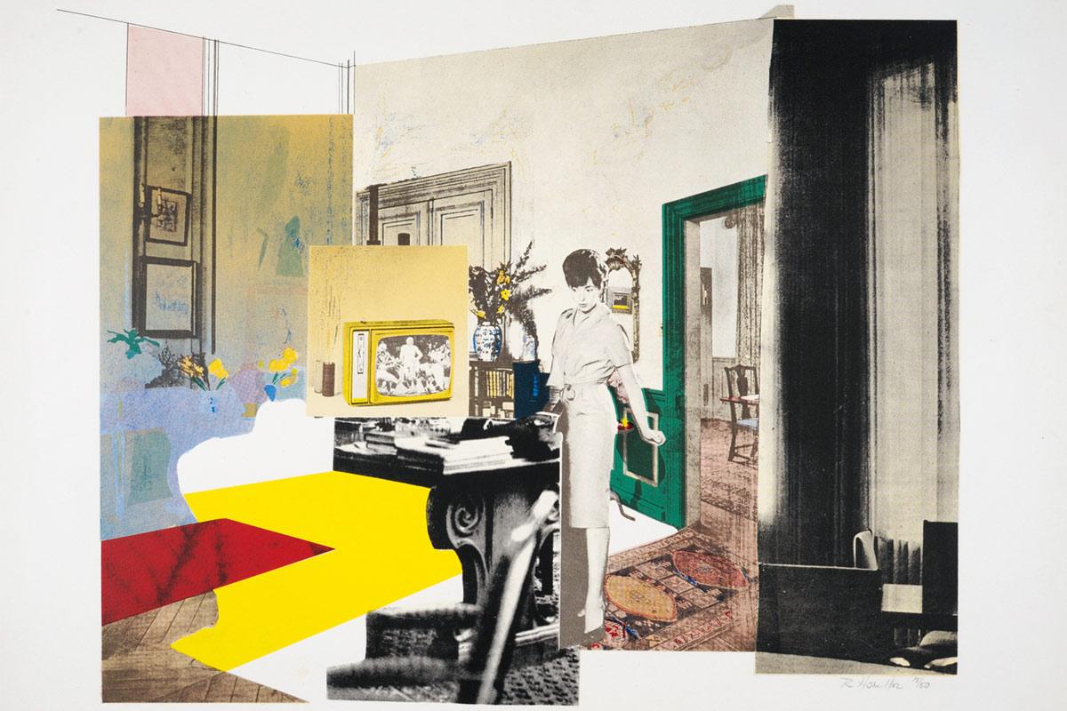 Richard Hamilton, Interior, 1964/65 © R. Hamilton. All Rights Reserved/VG Bild-Kunst, Bonn 2018