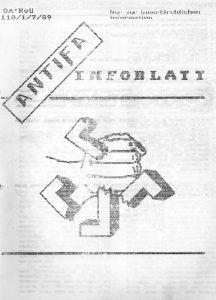 Antifa Infoblatt Ostberlin/DDR vom Juli 1989