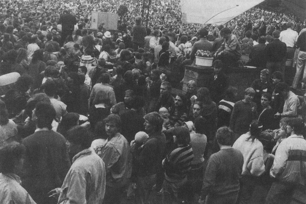 Dixilandfestival in Dresden, Quelle: telegraph 4/1992