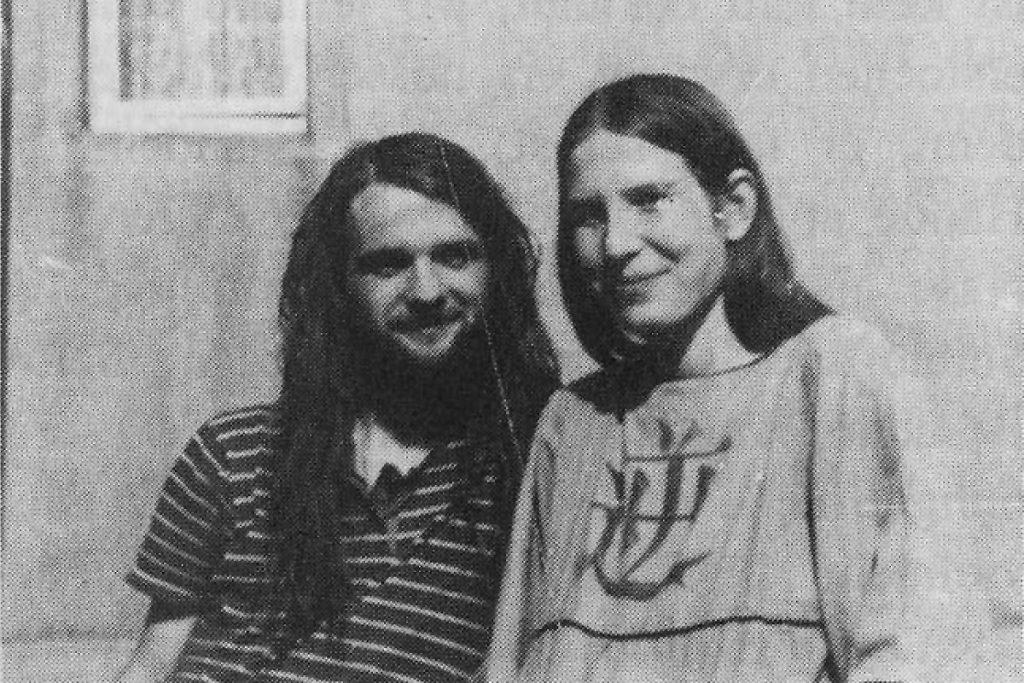 Johanna und Roman Kalex, Quelle: telegraph 4/1992
