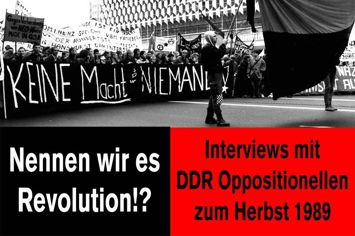 29.1.2020 Potsdam: Nennen wir es Revolution?