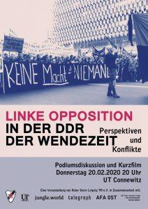 Linke Opposition in der DDR