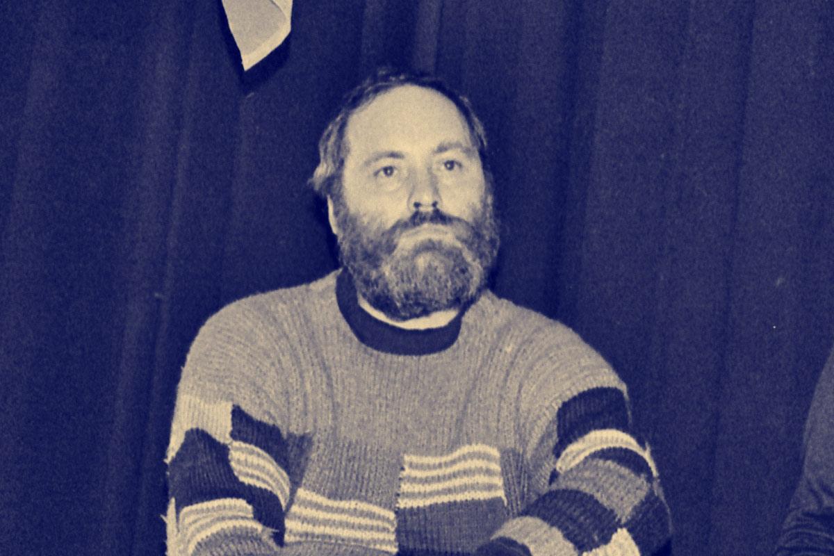 Thomas Klein, 1989. Foto: Hans Scherner
